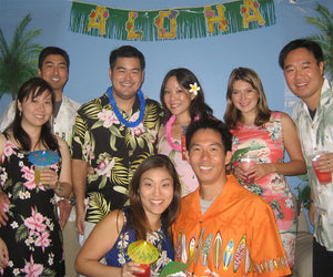 Hawaiian theme party planner