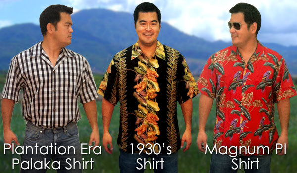 Different Eras and the Evolution of the Modern Aloha Shirt