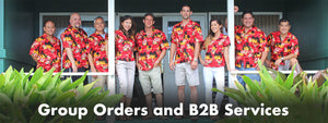 Hawaiian Shirt Group Orders and Business Services