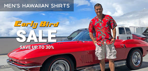 Men's Hawaiian Shirts Early Bird Sale