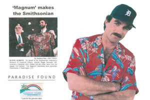 History of the Original Magnum PI Shirt