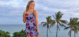 Shop Women's Dresses and Tops - Loryn in Magnum PI black dress