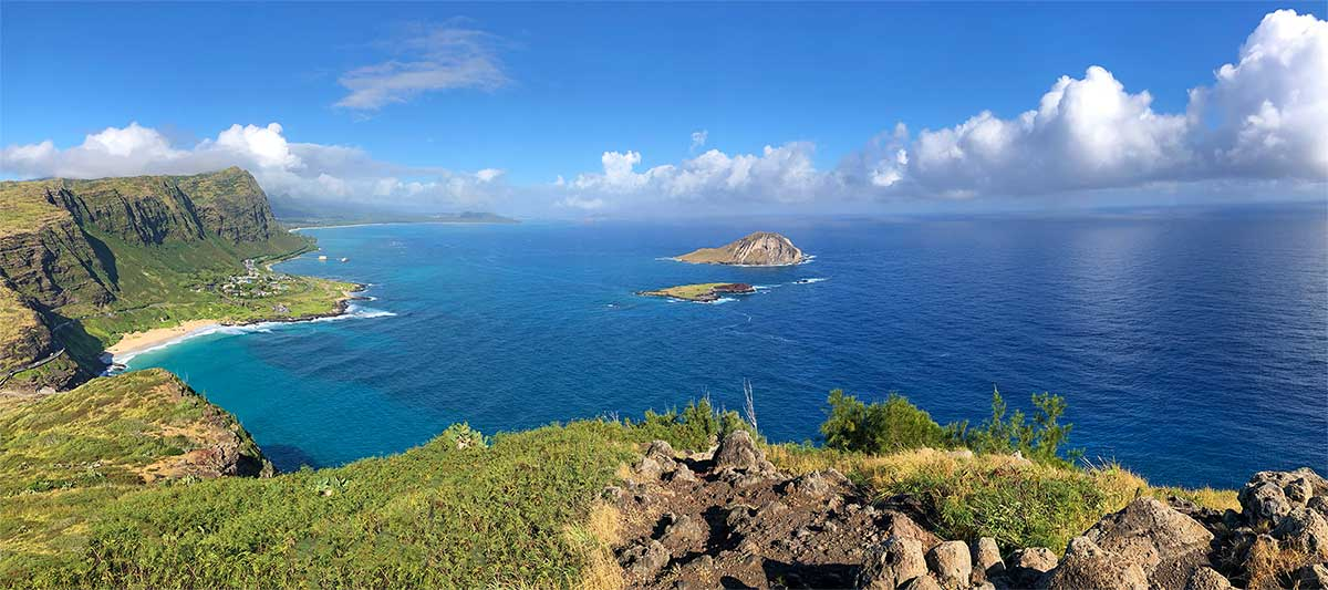 Rabbit Island off the Makapuu Coast of Oahu