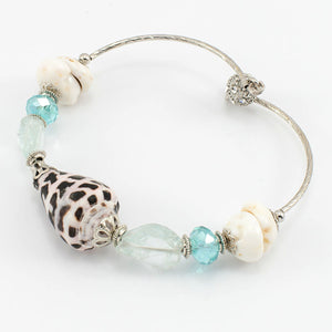 Tiger Shell + Puka Bangle