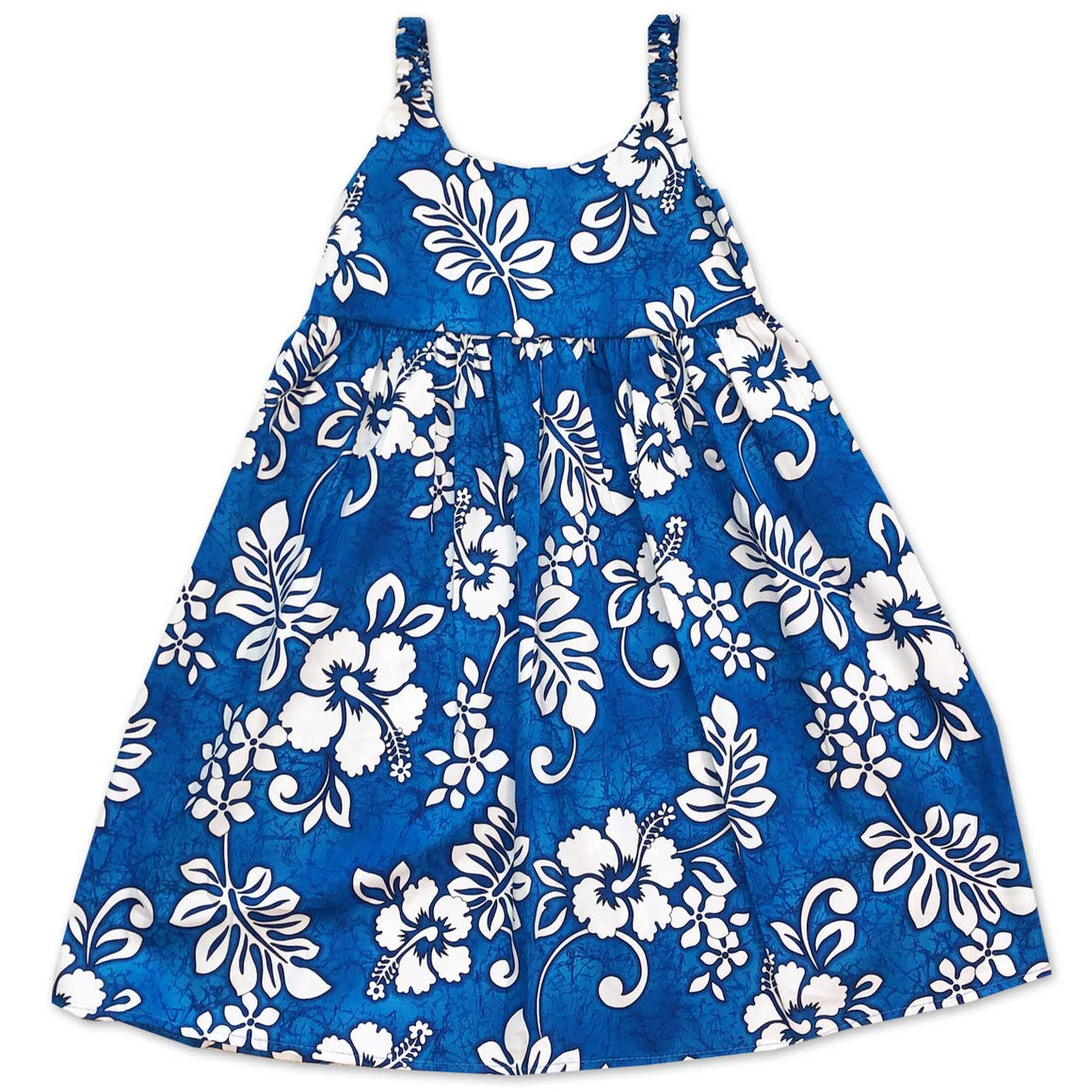 Tropic Flavor Blue Bungee Dress