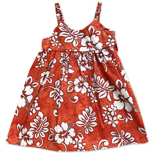 Tropic Flavor Orange Bungee Dress