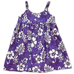Tropic Flavor Purple Bungee Dress