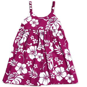 Hibiscus Party Red Bungee Dress