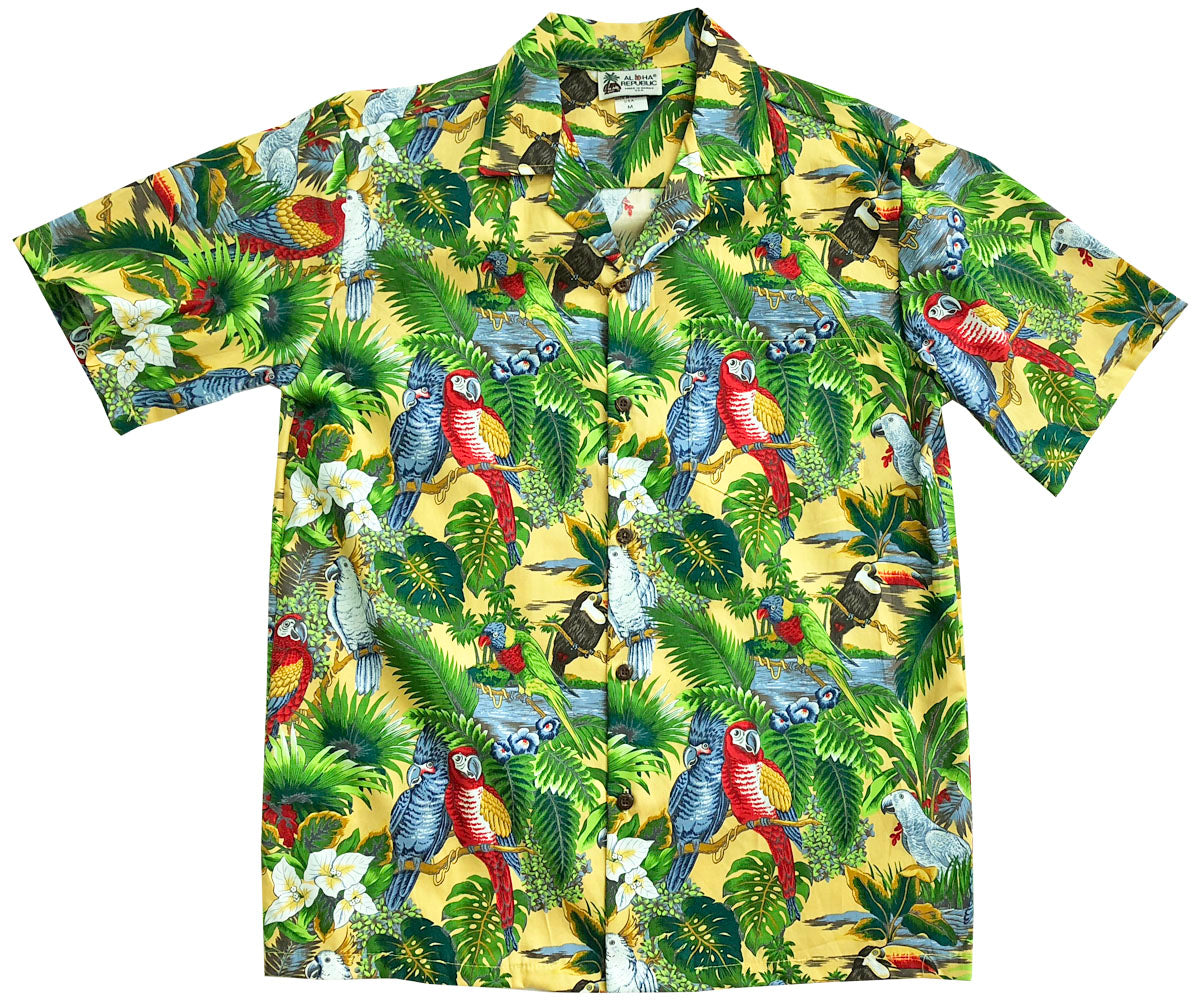 All Over Print Hawaiian Shirts Alohafunwear
