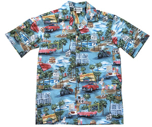 Route 66 Memories Hawaiian Shirt
