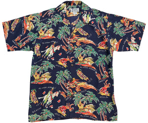 Pa'u Riders Retro Hawaiian Shirt