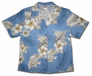 Floral Garden Sky Women's Hawaiian Shirt