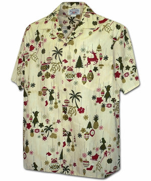 Hawaiian Ornaments Eggnog Hawaiian Shirt