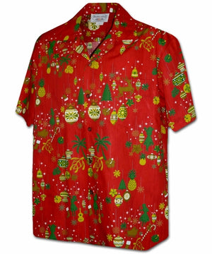 Hawaiian Ornaments Red Hawaiian Shirt