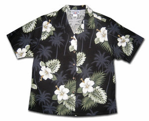 Island Black Sand Women's Hawaiian Shirt