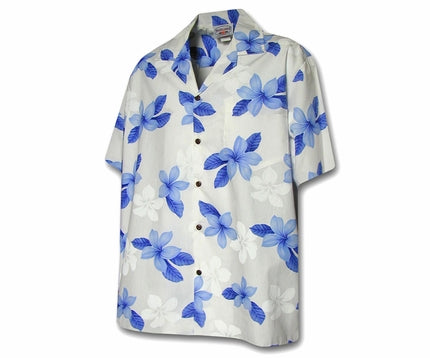Island Prince Blue Boy's Hawaiian Shirt