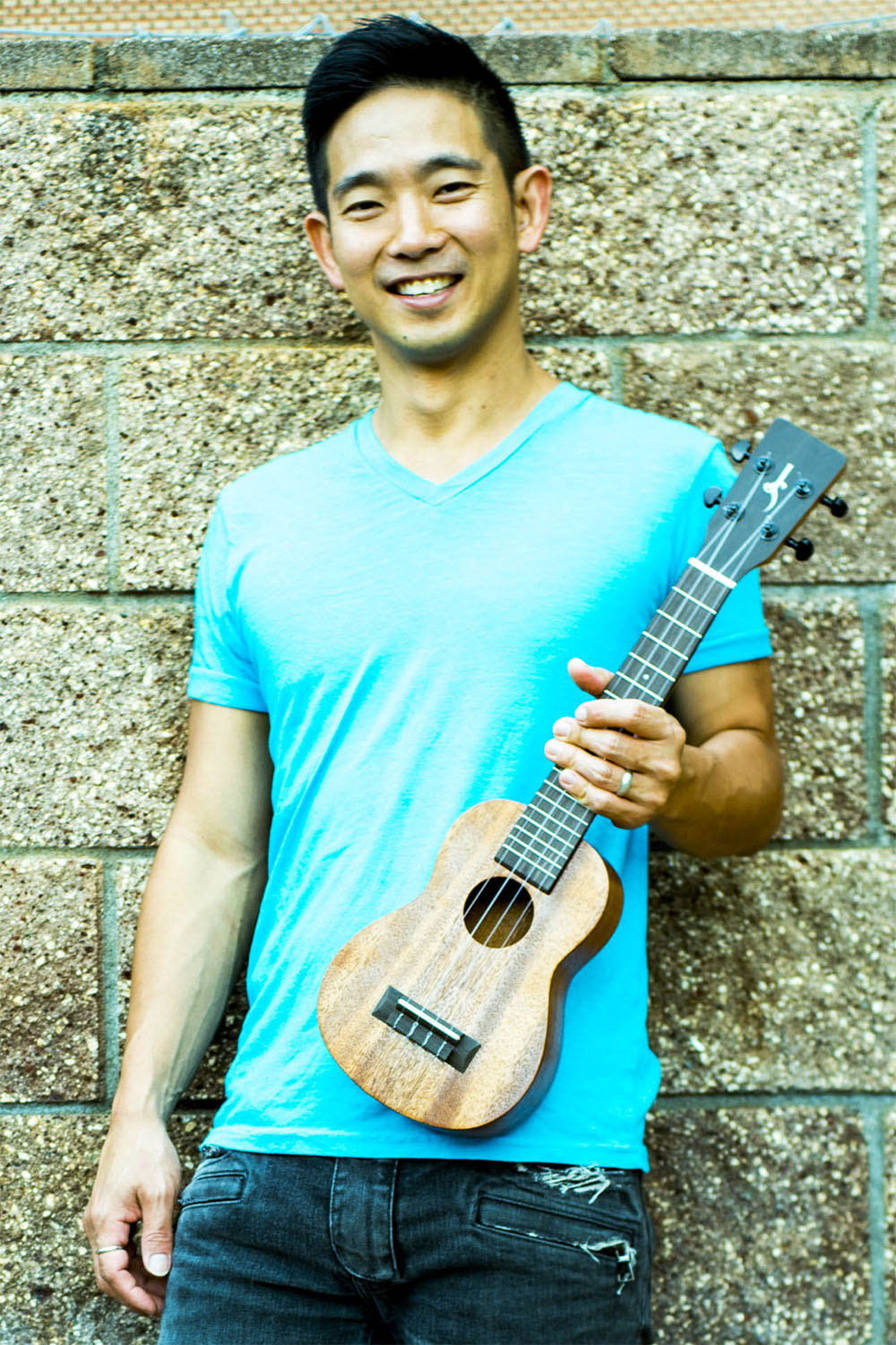 Jake Shimabukuro Wideneck Soprano Ukulele with Tenor Range