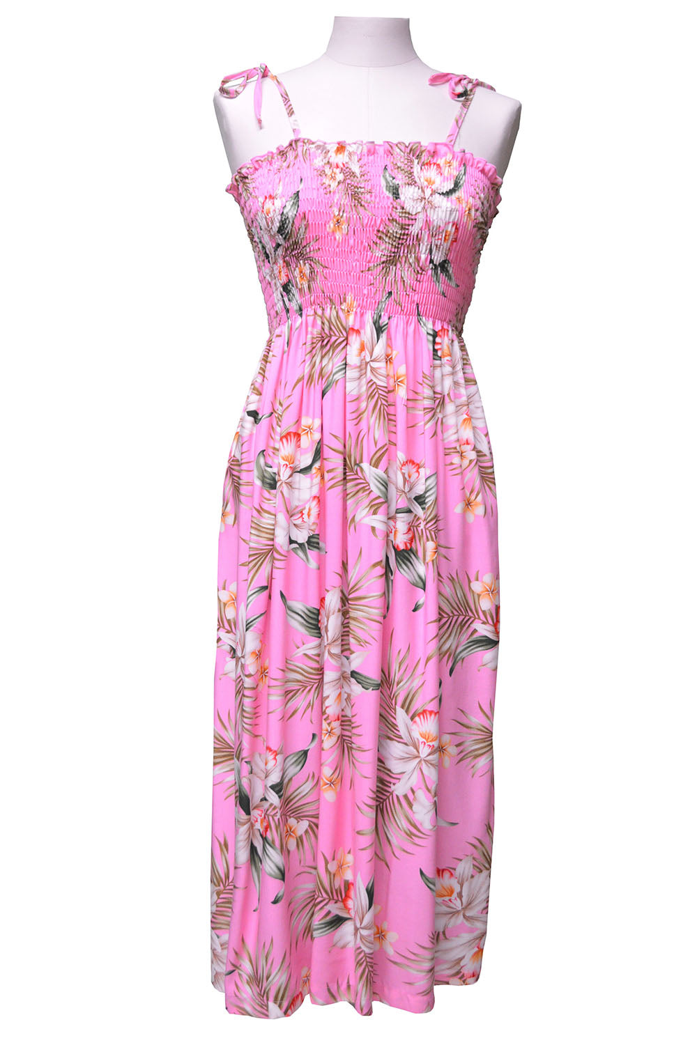 Pacific Orchid Pink Mid-Length Tube Dress