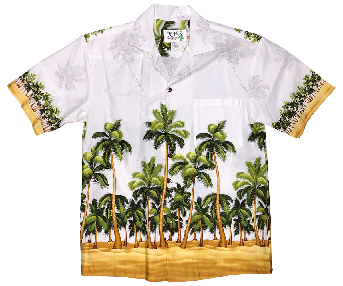 b3603f28 Engineered & Border Print Hawaiian Shirts - AlohaFunWear.com