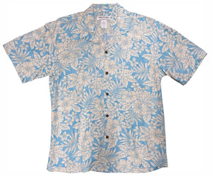 Kona Coast Blue Hawaiian Shirt
