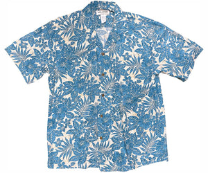 Kona Coast Navy Hawaiian Shirt
