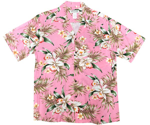 Pacific Orchid Pink Hawaiian Shirt