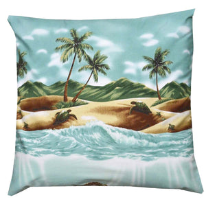 Totally Turtle Green Pillow Case