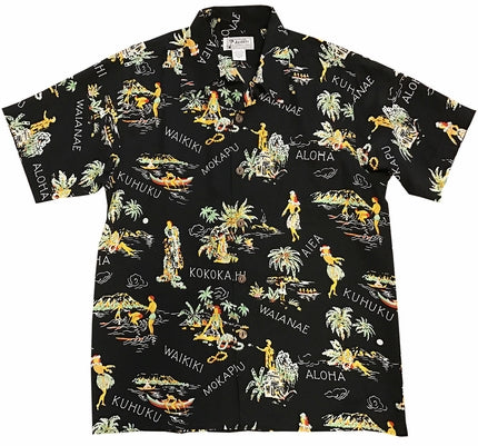 Lei Greetings Retro Hawaiian Shirt