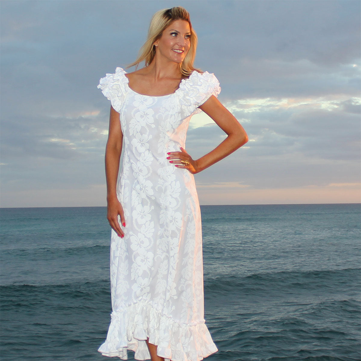 Hawaiian Style Wedding Dresses