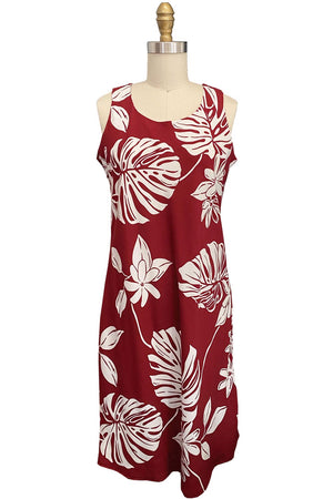 Tiare Fest Red Tank Dress