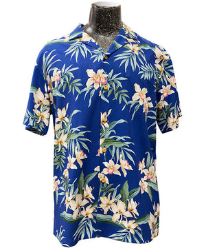 Ginger Orchid Royal Hawaiian Shirt