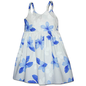 Island Baby Blue Girl's Bungee Dress