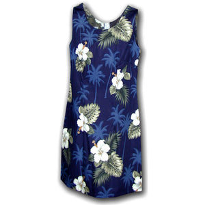 Kilauea Navy Short Tank Dress