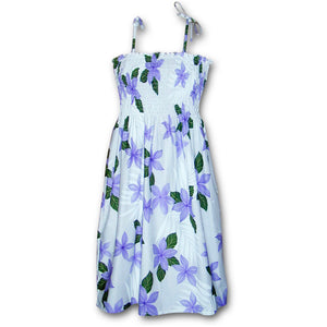 Passion Princess Purple Spaghetti Tube Dress