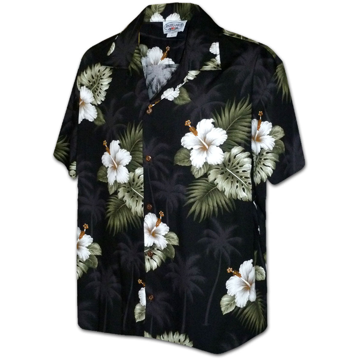 f9b040b7 Kilauea Black Men's Hawaiian Shirt - AlohaFunWear.com