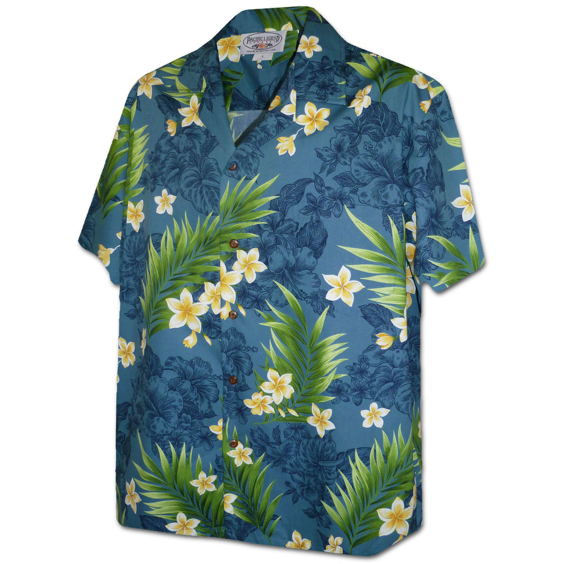 Shadow Garden Teal Hawaiian Shirt