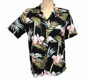 Women's Bamboo Orchid Black Campshirt