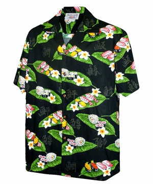 You Had Me at Sushi Black Hawaiian Shirt