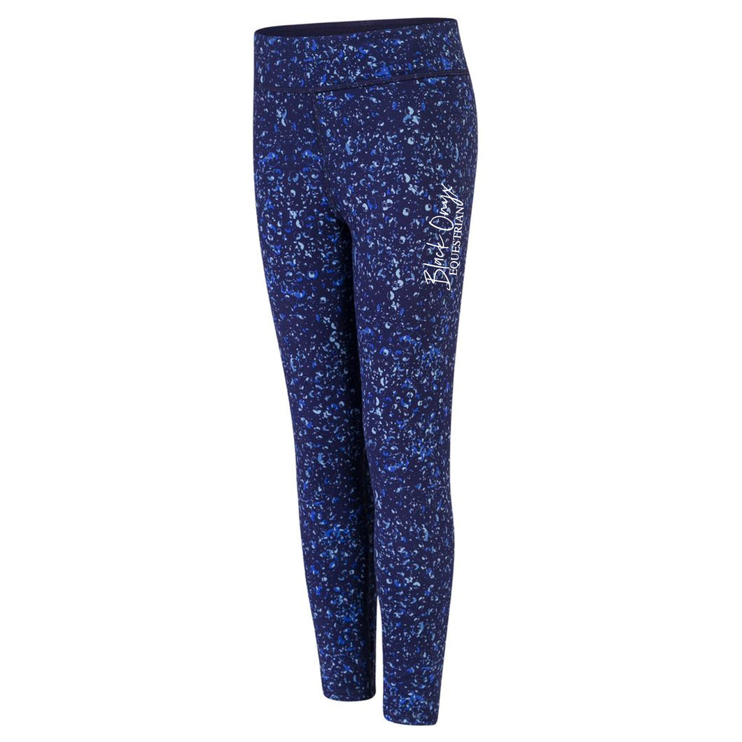 Young Talent Reversible Mucker Leggings - Bubbles