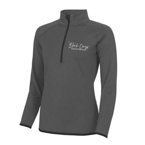 Ladies Technical Stretch Base Layer - Grey