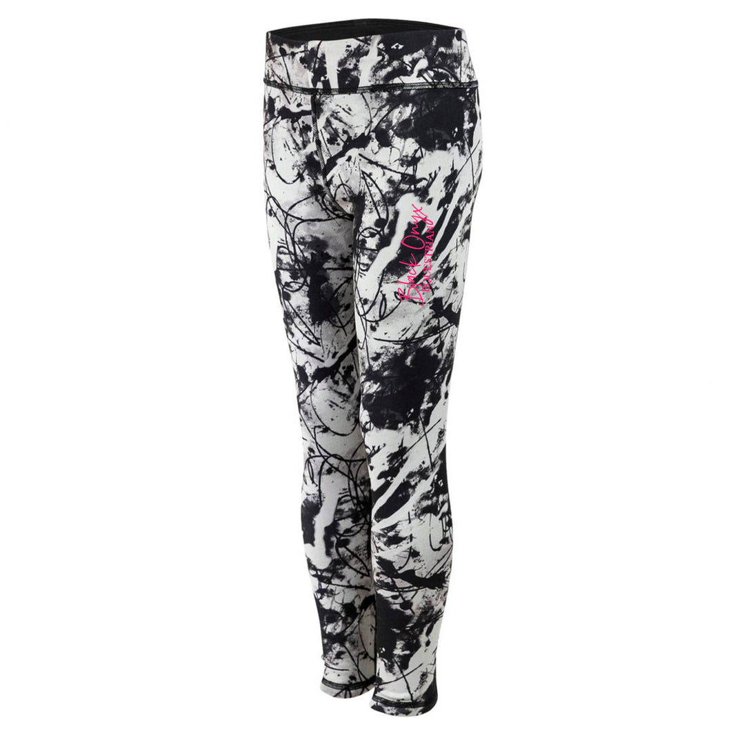 Young Talent Reversible Mucker Leggings - Graffiti