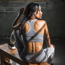 Load image into Gallery viewer, Seamless Sports Bra - Grey