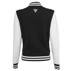 Young Talent College Sweater Jacket - Black & White