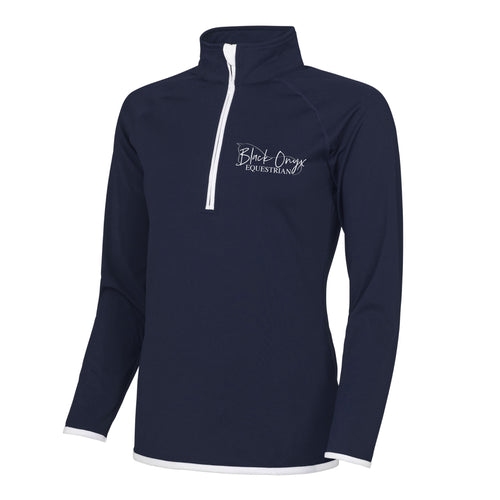 Ladies Technical Stretch Base Layer - Navy