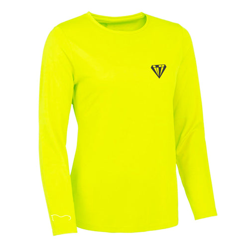 Ladies High Visibility Performance Top - Yellow