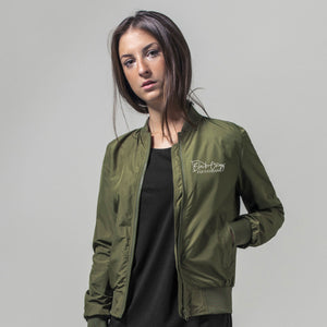 Ladies Bomber Jacket - Khaki