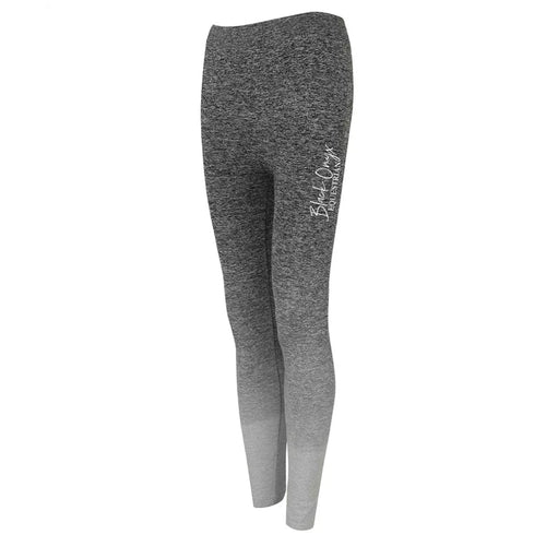 Ladies Ombré Leggings - Grey