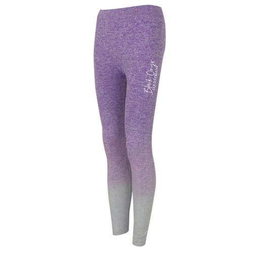 Ladies Ombré Leggings - Purple