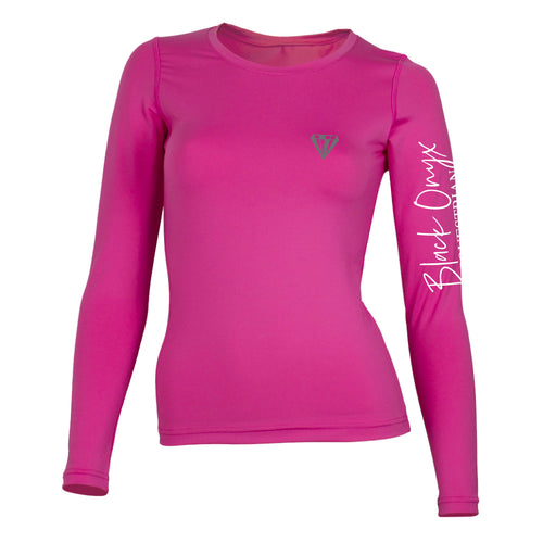 Ladies Crew Base Layer - Pink