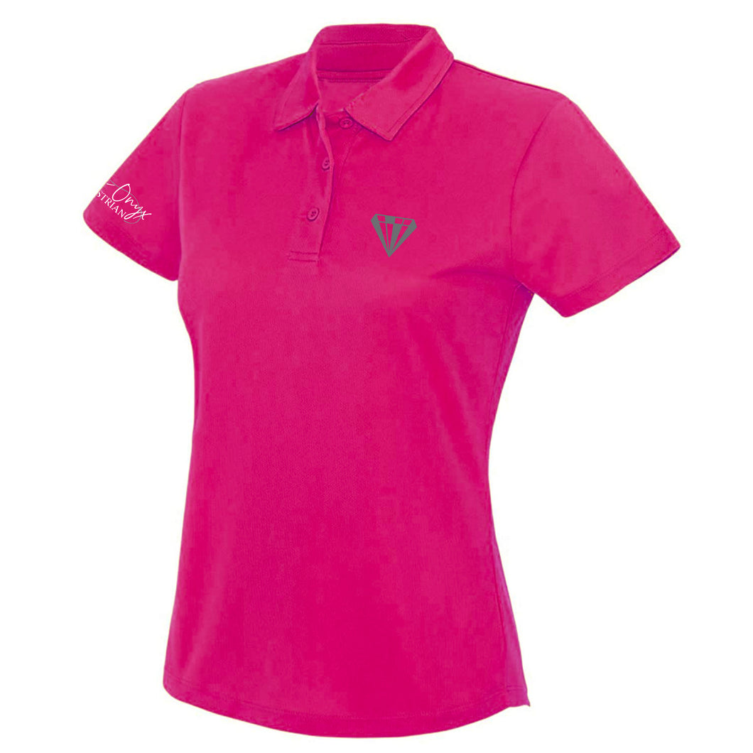 Ladies Keep Cool Performance Polo Shirt - Pink